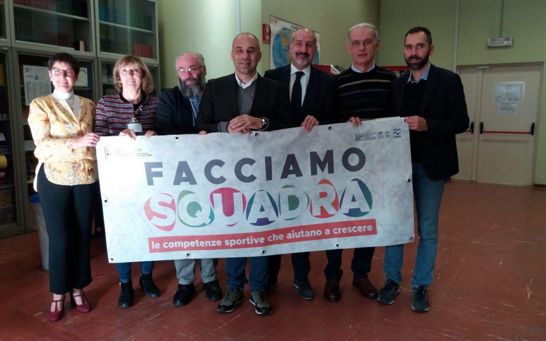 """Presentato in Conferenza Stampa """"Facciamo Squadra"""""""