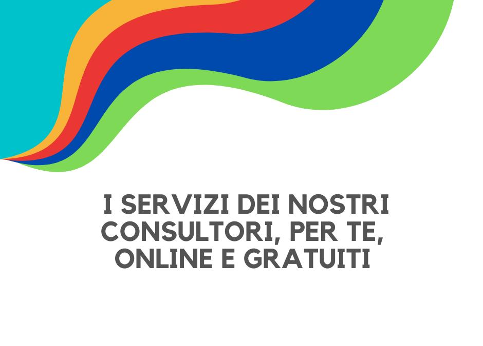 #NONSONOSOLO – Consulta l'Offerta dei Servizi Online e Gratuiti dei Consultori di Fondazione