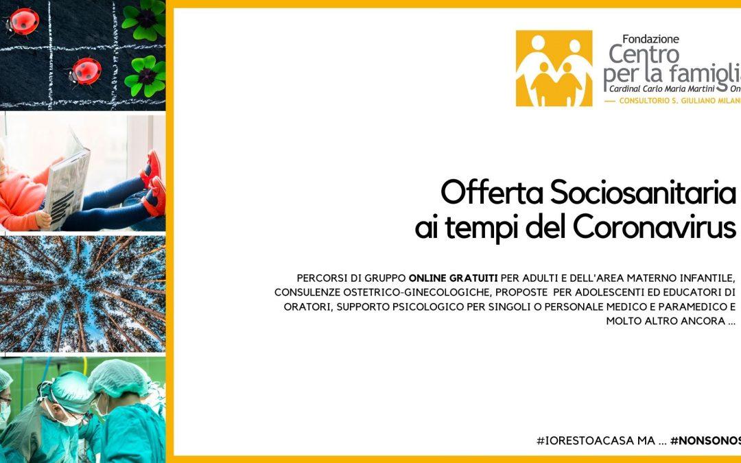 #NONSONOSOLO – Online l'Offerta Sociosanitaria Completa del Consultorio Ceaf di San Giuliano Milanese