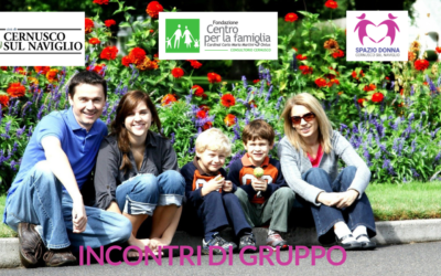 Incontri di Gruppo Online promossi dal Consultorio di Cernusco, Spazio Donna e Comune di Cernusco