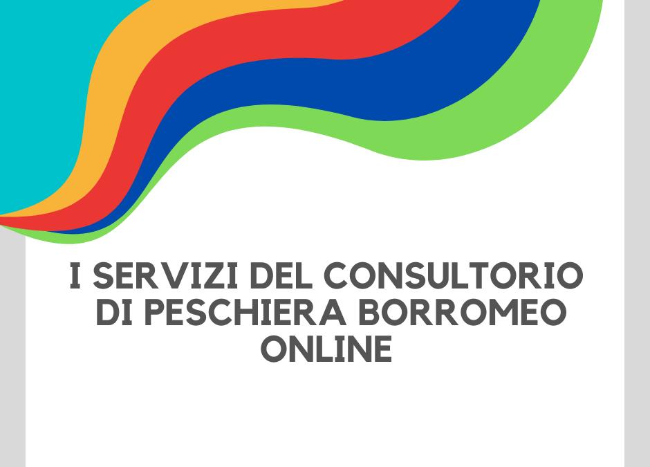 #NONSONOSOLO – Consultorio di Peschiera: scopri i Servizi Attivi Online e in Sede