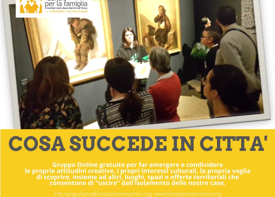 #NONSONOSOLO – Solitudine ed Isolamento addio. Parte il Gruppo Online Gratuito Cosa succede in città!