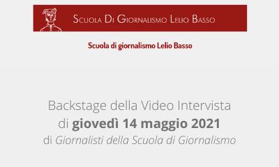 SOS Minori | Backstage Video Intervista