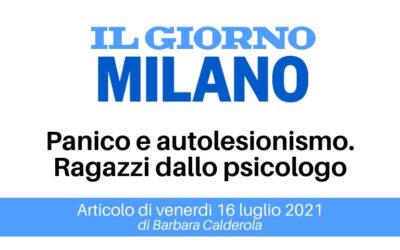 SOS Minori | Articolo Il Giorno Milano