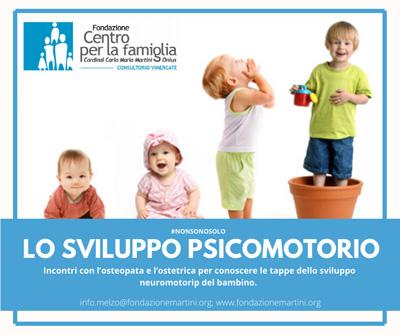 sviluppo psicomotorio Consultorio Vimercate