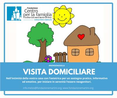Visita domiciliare per neogenitori Consultorio di Vimercate