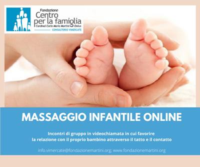 Massaggio infantile Consultorio di Vimercate